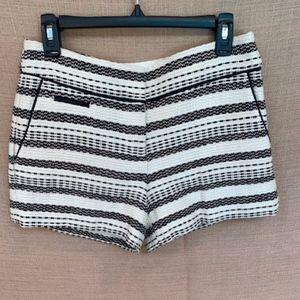 🖤Loft Black & White Riviera Shorts